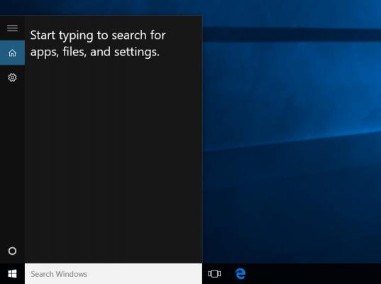 iskanje namizje Windows 10
