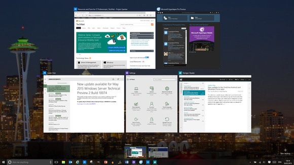 task view virtualna namizja Windows 10
